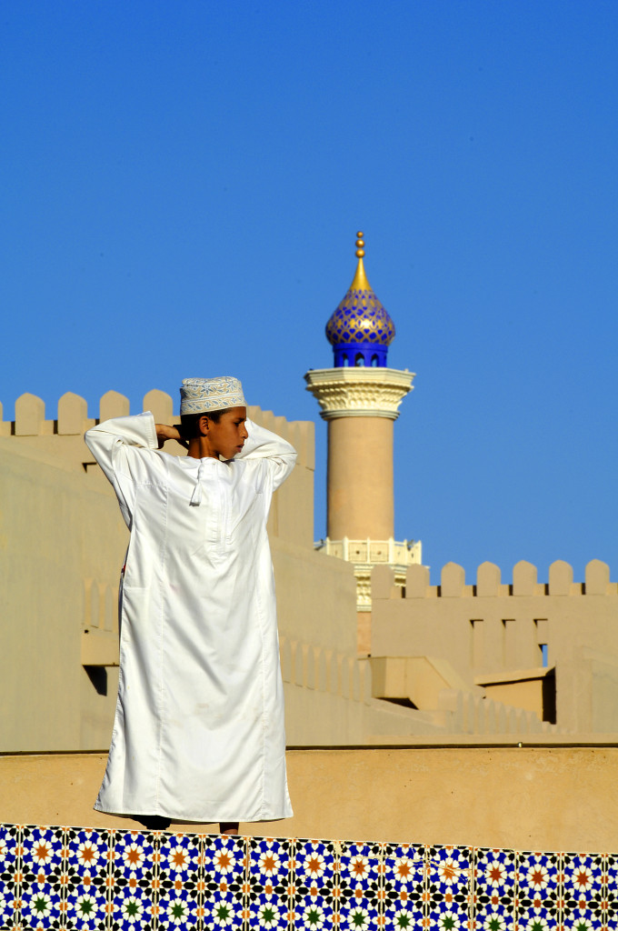 Marché du vendredi à Nizwa Sultanat d'Oman