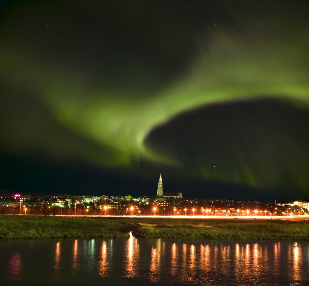 aurora borealis Reykjavik