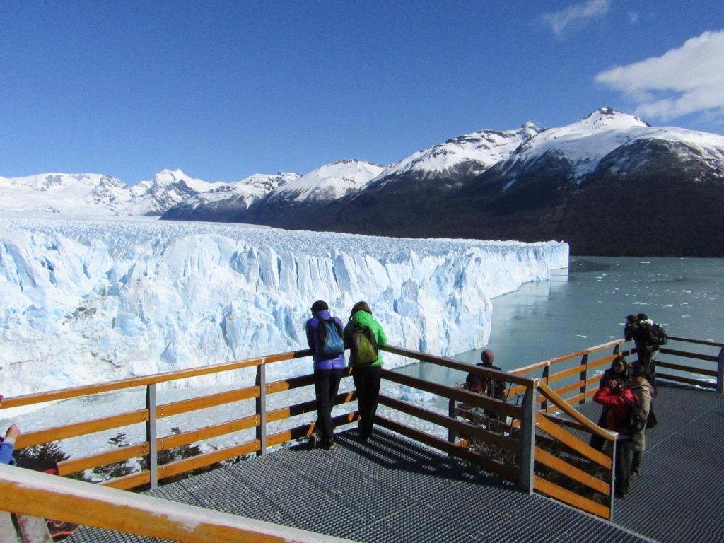 Perito Moreno pasarelas