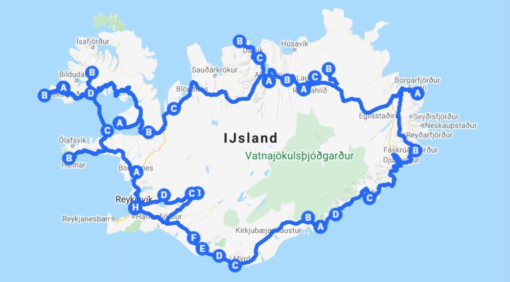 rondreis IJsland 12 dagen