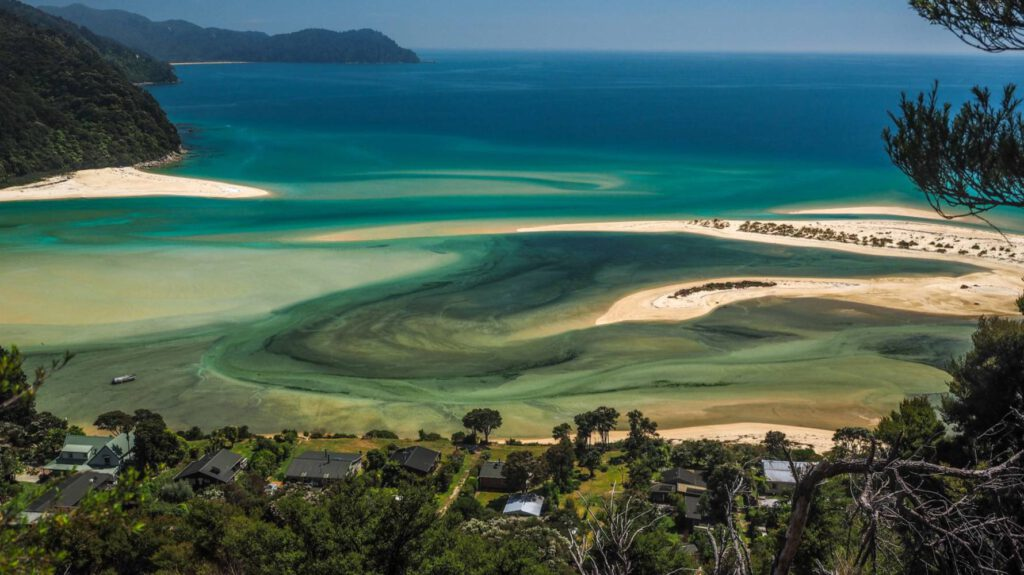 abel tasman nieuw-zeeland